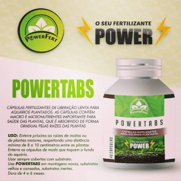 PowerTabs - 40 cápsulas