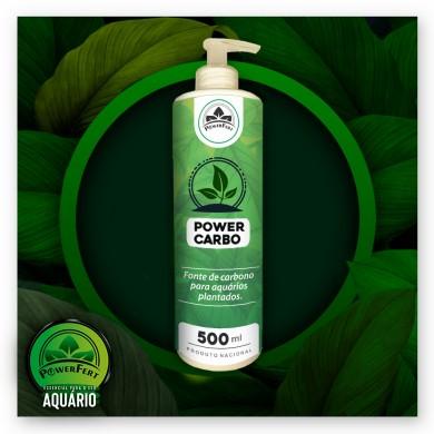 Fertilizante Carbono PowerFert - 500ml (INDISPONÍVEL)