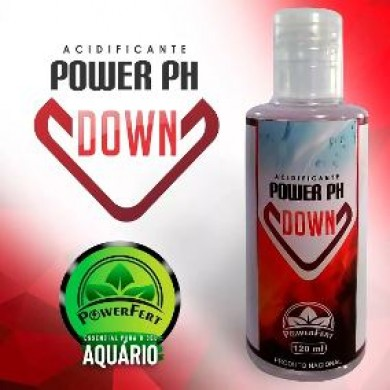 Acidificante para aquários Powerfert - 120 Ml