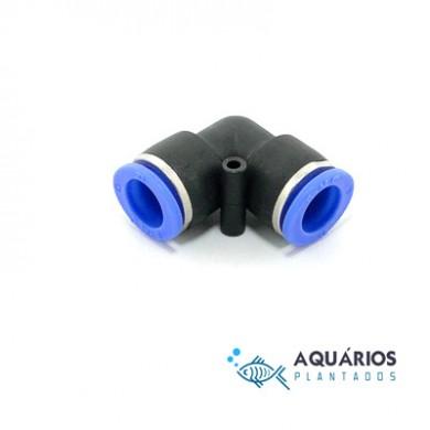 Conector cotovelo para mangueira CO2 6 mm AP320